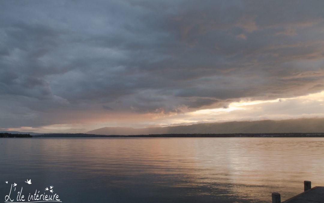 Maître Léman: un lac pour enseignant de pleine conscience