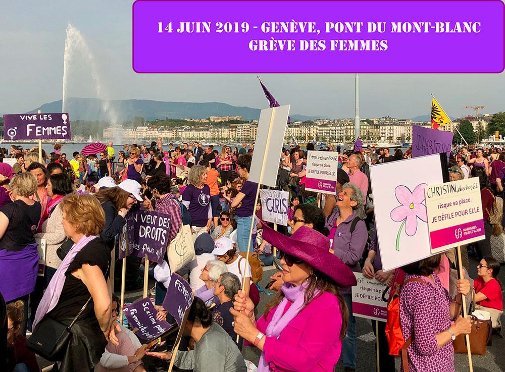 Grève des femmes, Genève, 14 juin 2019